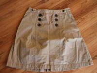 Khaki skirt for sale, great condition! Like new. Such a