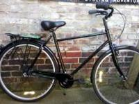 KHS Green 3 speed internal hub city bike. Comes with