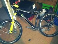 I'm selling a KHS mountain bike. It is setup for street