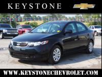 This black 2013 Kia Forte LX might be just the sedan