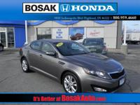 This gas-saving 2012 Optima LX will get you where you