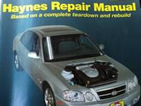 Lightly used Haynes Repair Manual for 2001 thru 2010
