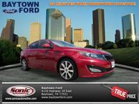 This dk. red 2012 Kia Optima SX Turbo might be just the