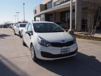 FUEL EFFICIENT 36 MPG Hwy/28 MPG City! Clear White