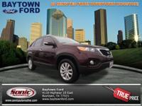 Don't let this 2011 Kia Sorento EX drive away without
