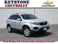 Have we got the SUV for you! This 2011 Sorento runs on