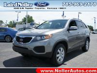 This 2013 Kia Sorento LX has it all! This one's a deal