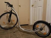 Gently used kickbike SportMax. Extra tube for back