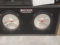 Selling for extremely cheap: -Kicker KX 600.1-Kicker ZX