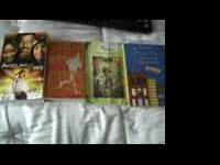 I have 4 books that other kids will enjoy.The names our