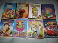 DVDs $3 each. * All Dogs Go To Heaven 2 * Elmo's World