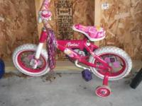Barbie Bicycle $15.00 If interested, please call