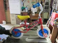 Kid's bike Fisher - Price Little People front wheel