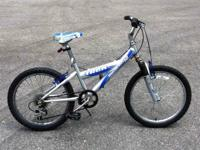 "Trek 6 speed with shock - 20"" wheels $30 Trek BMX 20"""