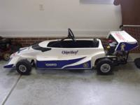 Customized developed kids go kart. This was developed a