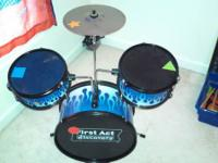 Hey there! I have a First Act Discovery Drum set for