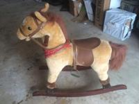 Henry the Rocking Horse has been a dear friend to my