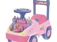 Kiddieland Disney Baby Princess Ride on toy. In great