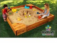 KidKraft Backyard Sandbox: In Box      KidKraft