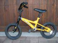 "Kids bicycle -- REI Novara 12"" Hornet -- training"