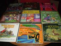 I have 15 children albums for sale. Here is a list of