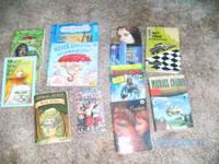 all books in good condition make me an offer call or