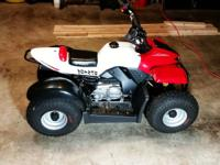 Almost brand new kids atv. Baja brand, 50cc. Few times