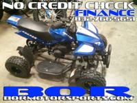 HERE AT BOR WE HAVE YOUR ATV'S IN STOCK AND FULLY