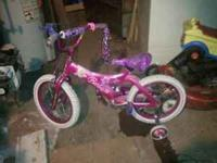 Barbie bike, perfect for a little girl around 5 years