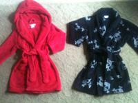 Keep your little guys toasty this winter!  Red robe is