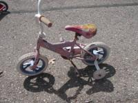 "Kids Bike  OBO I think it is a 12"".  It is a smaller"