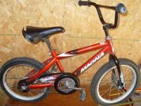 We have 1 boys bike that we are selling to anybody that
