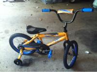 I have a kids bike for sale just got it as a gift for