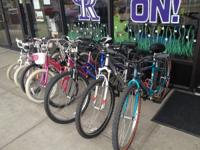 We've got bunches of youngster bikes at Replay