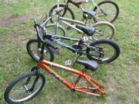 We are selling these bikes... Some have flats and