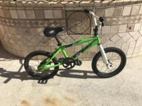 Caterpillar FX16: with training wheels. Diamondback