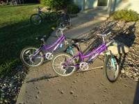 I have 2 Kids bikes for sale. Buy one at $40.00 Buy