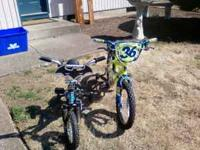 We have two kids bikes both in good condition my kids