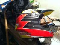 Have a really nice fullface Bell Moto 8 helmet size is