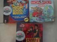 I have several board games and DVD interactive games