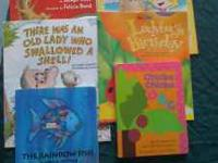 6 kids books. all for $2. if interested call/text