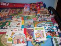 a lot of kids books asking 5.00 contact at  Location: