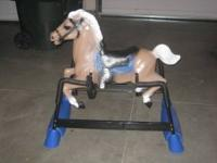 like new bouncing horse asking 45 obo. call tim @