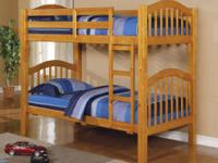 The Heartland Bunk Bed is a great choice for those that