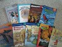 I AM SELLING SEVERAL BOOKS THAT ARE FROM BEGINNER