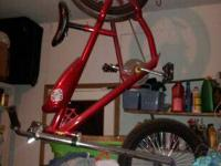 Up for sale is a bike that was almost never used. Dont