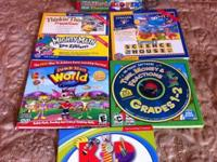 There are 5 CDs with games. These are instructional,