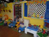 Kids Cottage Resale Lots of Toys, Baby Items, Game