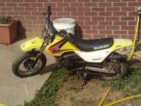 2005 Suzuki JR 50 for sale. One owner, bought brand new