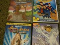 DVDS $3 each or two for $5 The Animated Hero Classics
